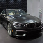 Los Angeles, USA - November 16, 2016: BMW M760i xD...
