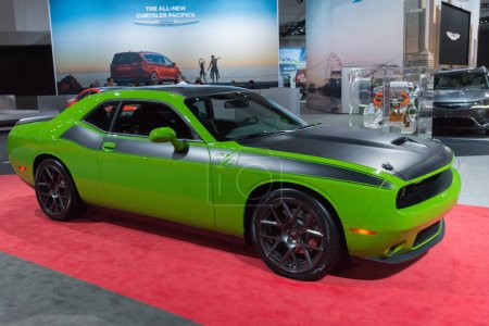 Dodge Challenger Green