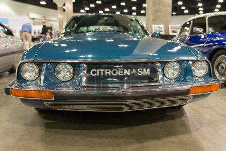 Citroen SM on display