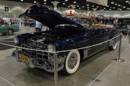 Cadillac Convertible on display