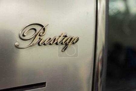 Prestige Citroen Logo on display