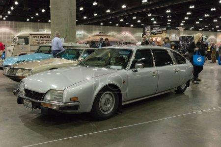 Citroen Prestige on display
