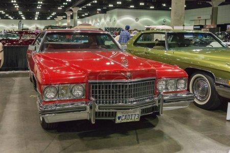 Cadillac Calais on display