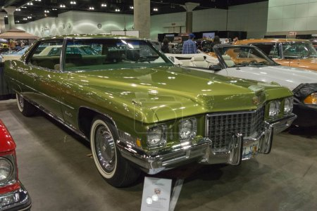 Cadillac DeVille on display