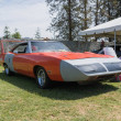 Постер, плакат: Plymouth Superbird on display