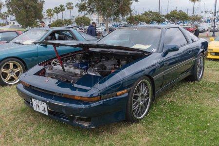 Toyota Supra 1988 on display