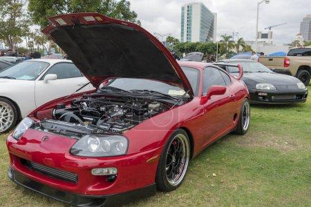 Toyota Supra 1994 on display