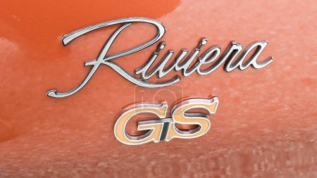 Buick Riviera GS emblem on