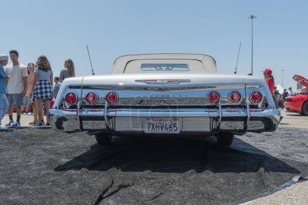 Chevrolet Impala on display during