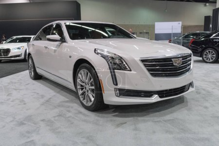 Cadillac CT6 30TT on display