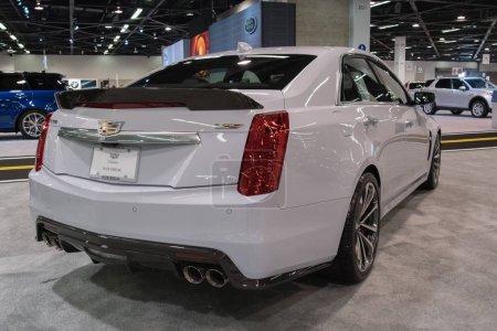 Cadillac CTS on display