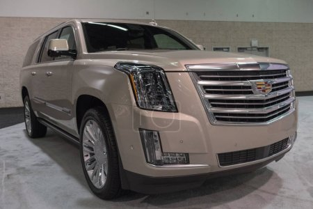 Cadillac Escalade on display