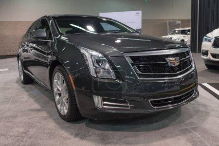 Cadillac XTS on display