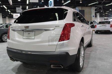 Cadillac XT6 on display