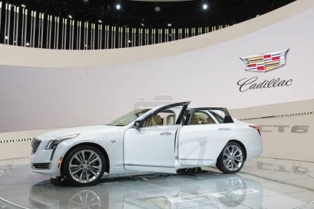 Cadillac CT6 on display during