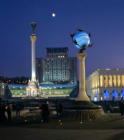 Maidan Nezalezhnosti - evening