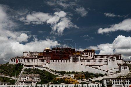Potala Palace. Dalai lama place. Lhasa, Tibet