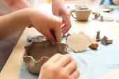 Extracurricular activities, ceramics.
