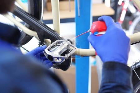 Bike, repair and maintenance.