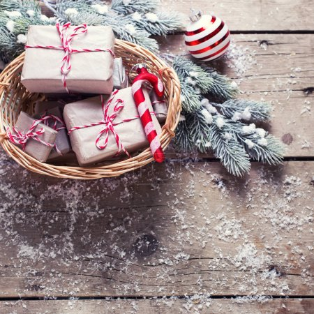 Christmas festive presents
