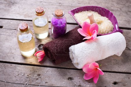 Wellness and spa  setting.