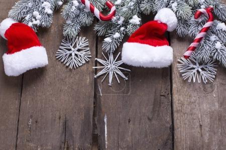 Spruce branches,  christmas decorations