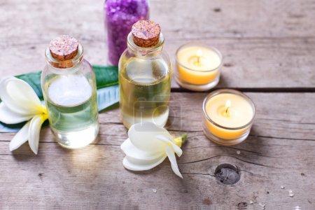 Natural organic cosmetics.