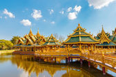 Pavilion of the Enlightened at Ancient Siam in Bangkok, Thailand