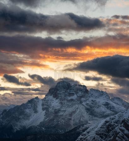 Italy mountain landscape