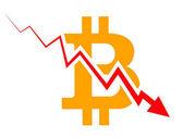 Bitcoin index rating go down on exchange market