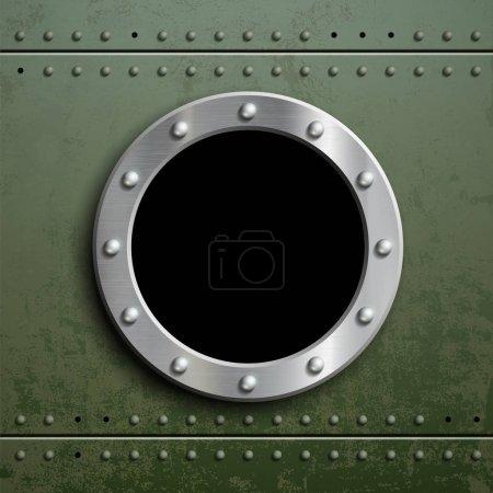 Round window porthole