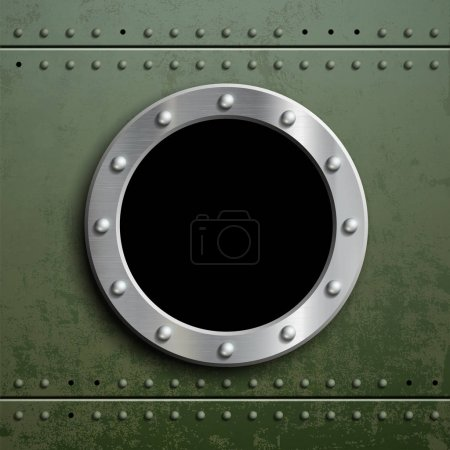 Round window porthole