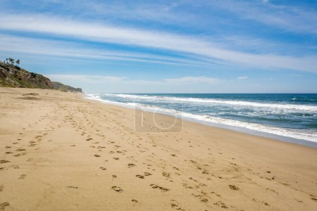 Zuma Beach, one of the most popular beaches in Los...