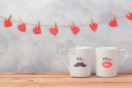quelques tasses à café