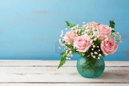 Beautiful rose flowers bouquet