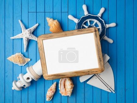 vacation photo frame