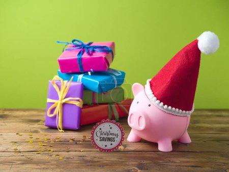 Christmas savings concept