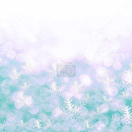 festive magical snowflakes