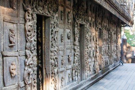 Photo for Shwenandaw wooden monastery, Myanmar - Royalty Free Image