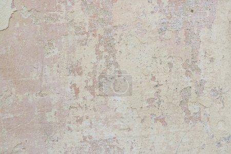 Photo pour Fond de mur en béton peint rouge et jaune . - image libre de droit