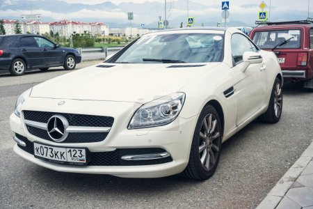 New Mercedes Benz SLK