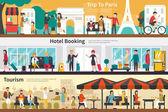 Trip To Paris Hotel Booking Tourism