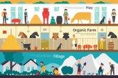 Hay Organic Farm Tillage