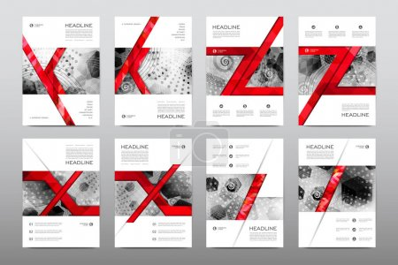 layouts of design brochures
