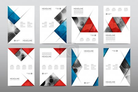 Brochure layout templates