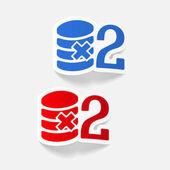 Realistic design elements: money icons set