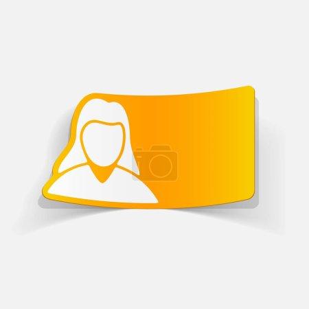 woman silhouette icon