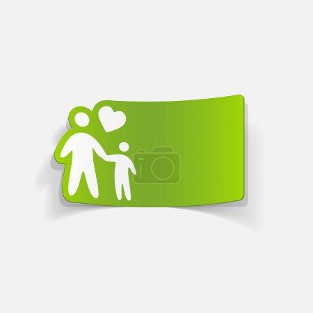 family flat icon