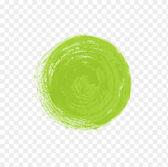 Grunge green circle