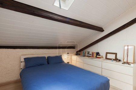 Bedroom of a loft